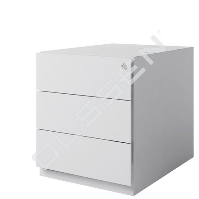 Bisley verrijdbaar ladenblok met 3x materiaallade for Ladenblok of ladeblok